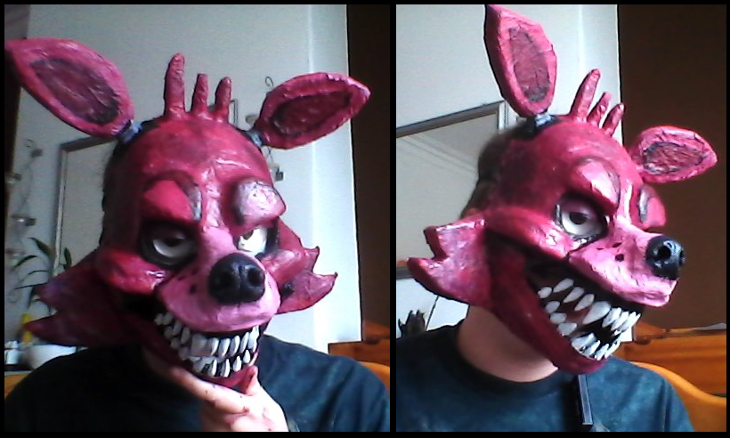 Foxy mask by monopolymurder on deviantart