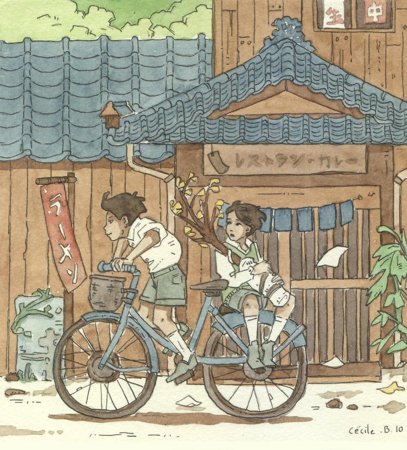 japan boys by Uehara