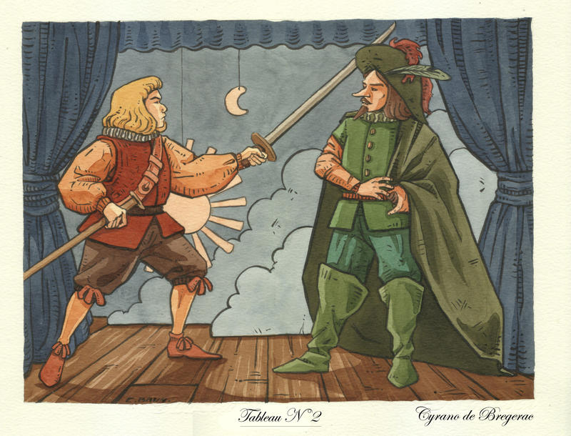 Kami shibai Cyrano de Bergerac by Uehara