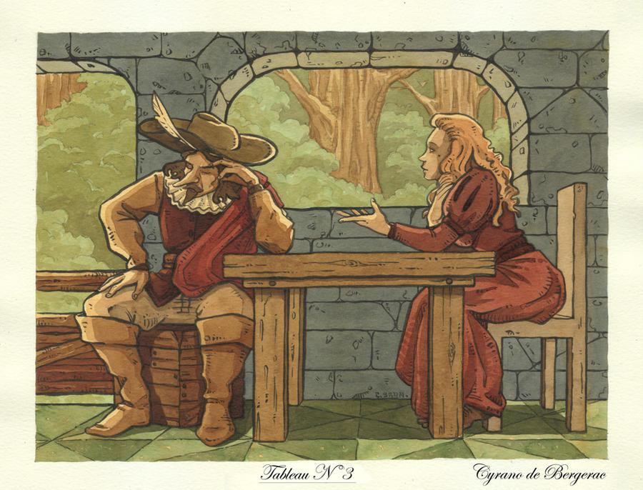 Cyrano de Bergerac  N 3 by Uehara