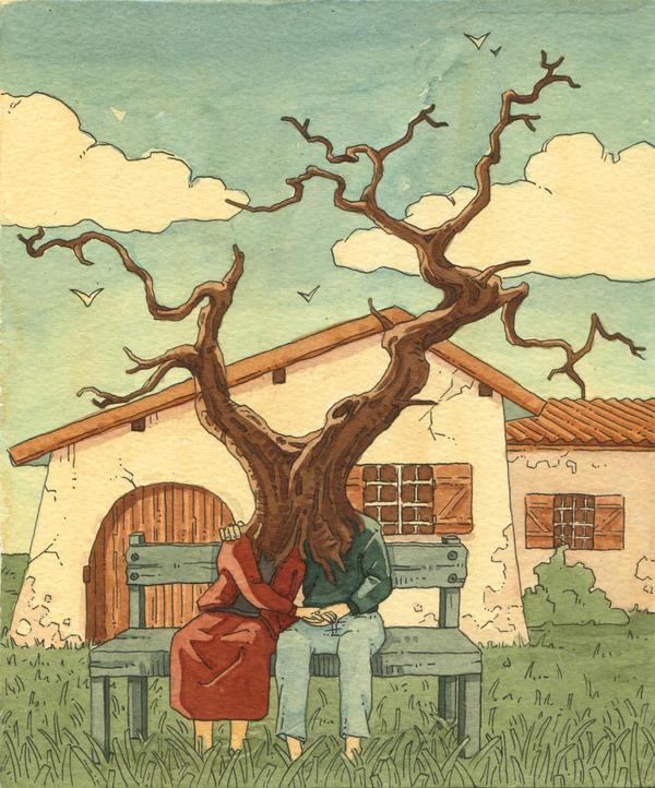 Human tree by Uehara