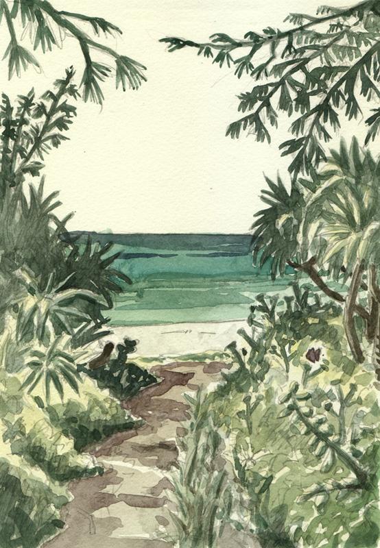 aquarelle Okinawa
