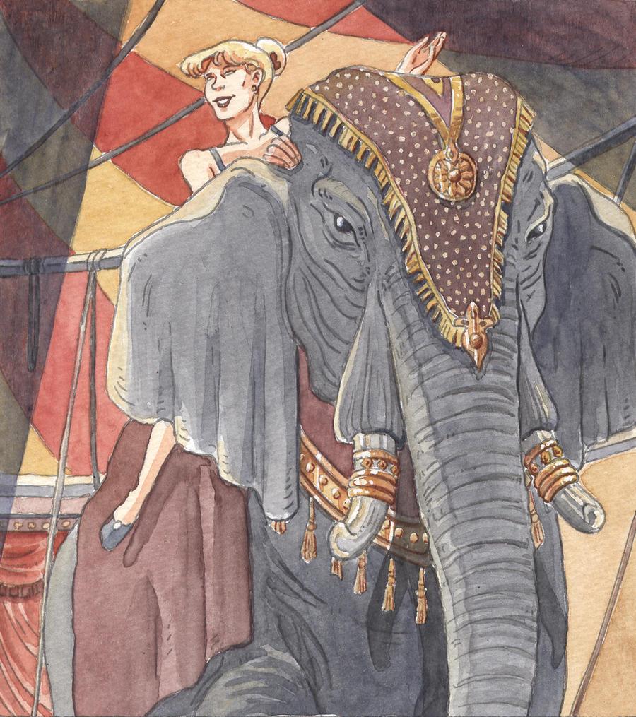 circus by Uehara