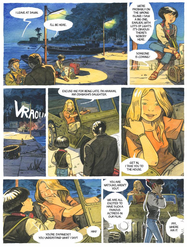 Natsuko page 2 by Uehara