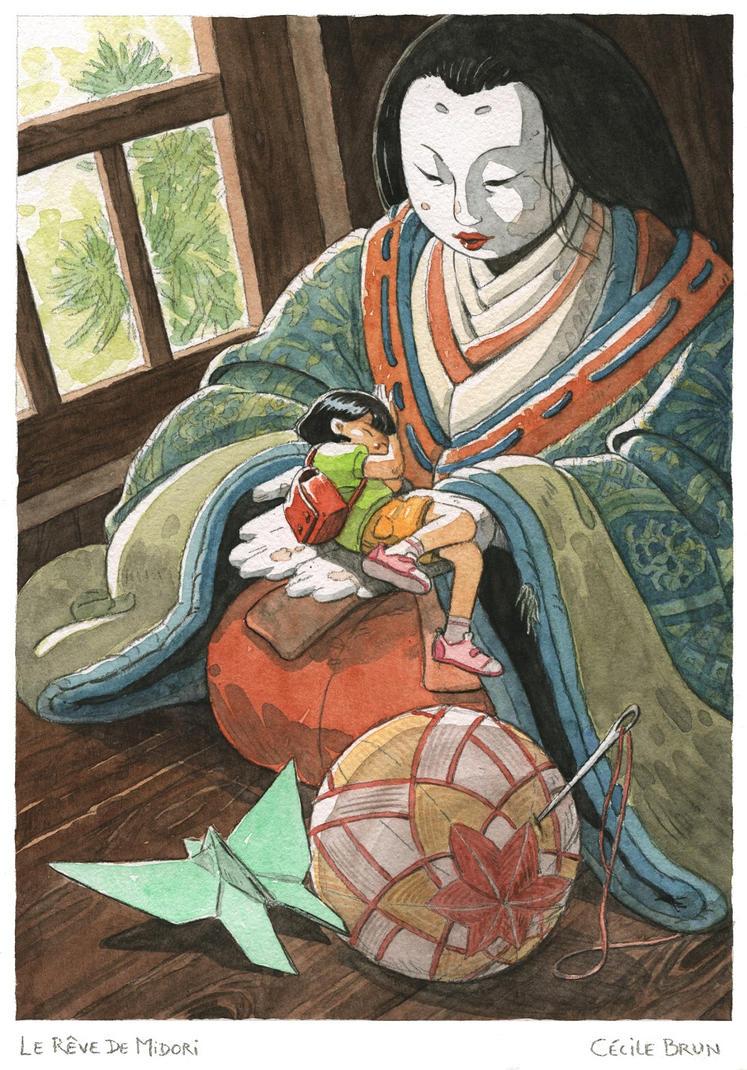 Le Reve De Midori - Midori's dream by Uehara
