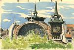 Evian (watercolor sketch on location)