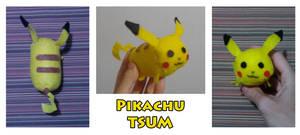 Pikachu Tsum-Tsum (Handsewn)