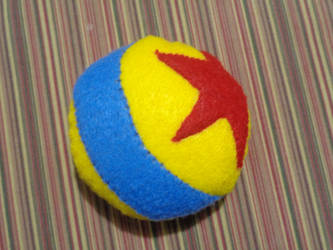 Pixar Ball Mini-pillow by A-Bright-Idea
