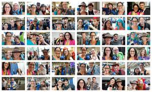 Bronycon 2019 Selfie Collage
