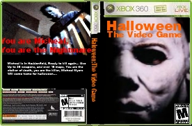 halloweenthe video game xbox 360 boxart by gmannytheanimator - Halloween Xbox 360