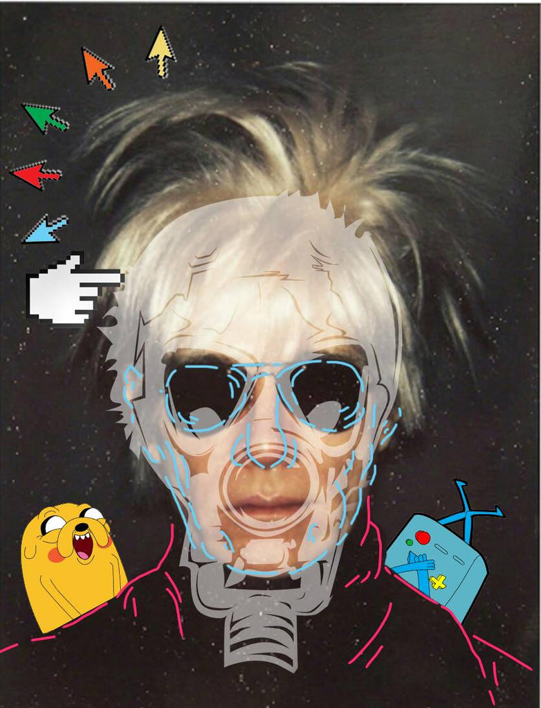 phases of andy warhol part 3 by Iam-Azriel