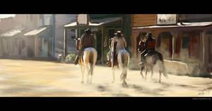 Wild wild west by glazyrin
