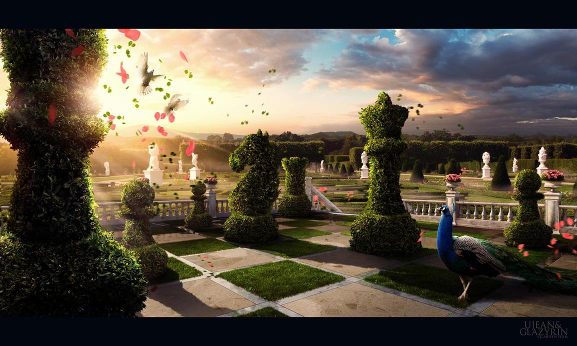 Chess Garden by glazyrin