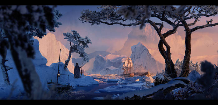 Frozen world +Making of +FREE PSD