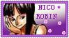 stamp Nico Robin by akaiwine