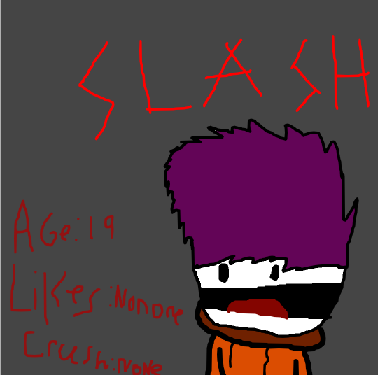 Slash oc review by Dyingisntthatbad