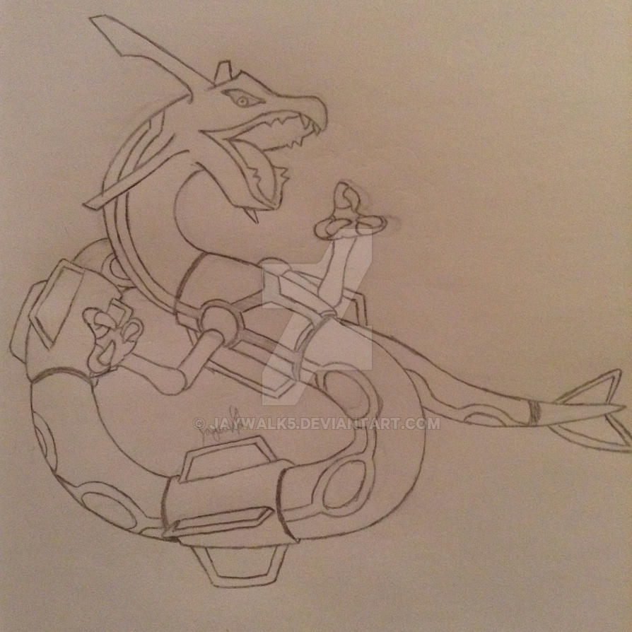 Rayquaza by Jaywalk5
