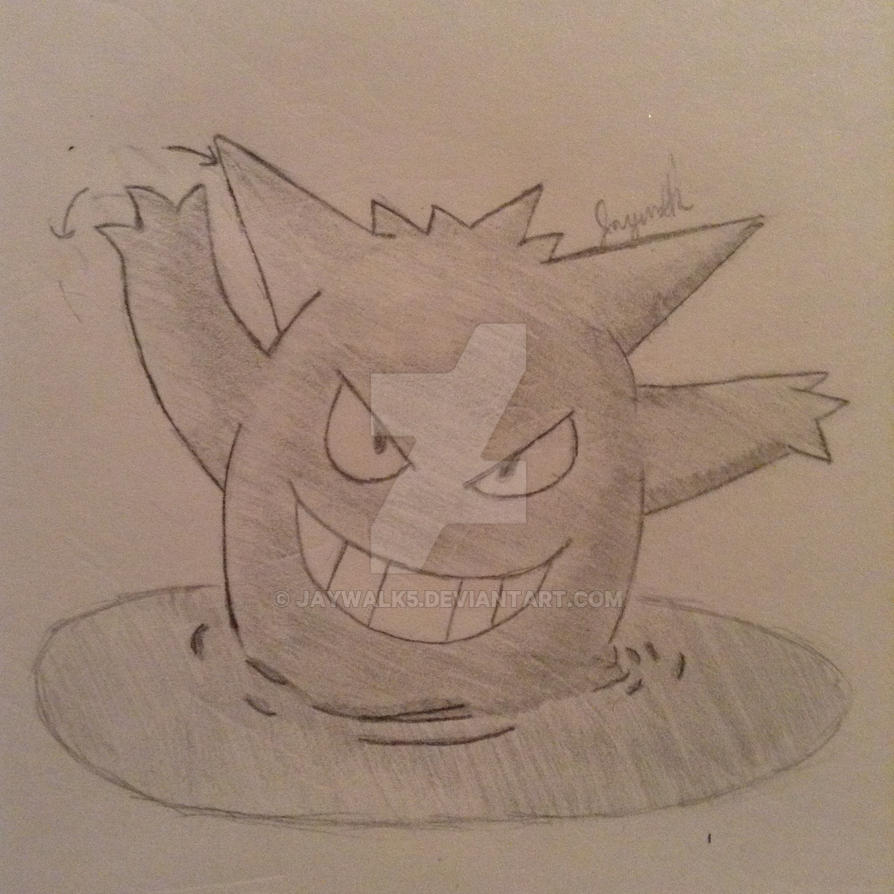 Gengar by Jaywalk5