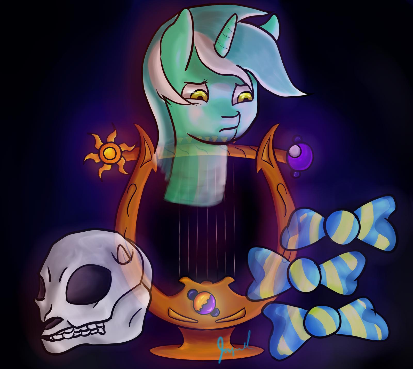 Lyra's Lyre by Jaywalk5