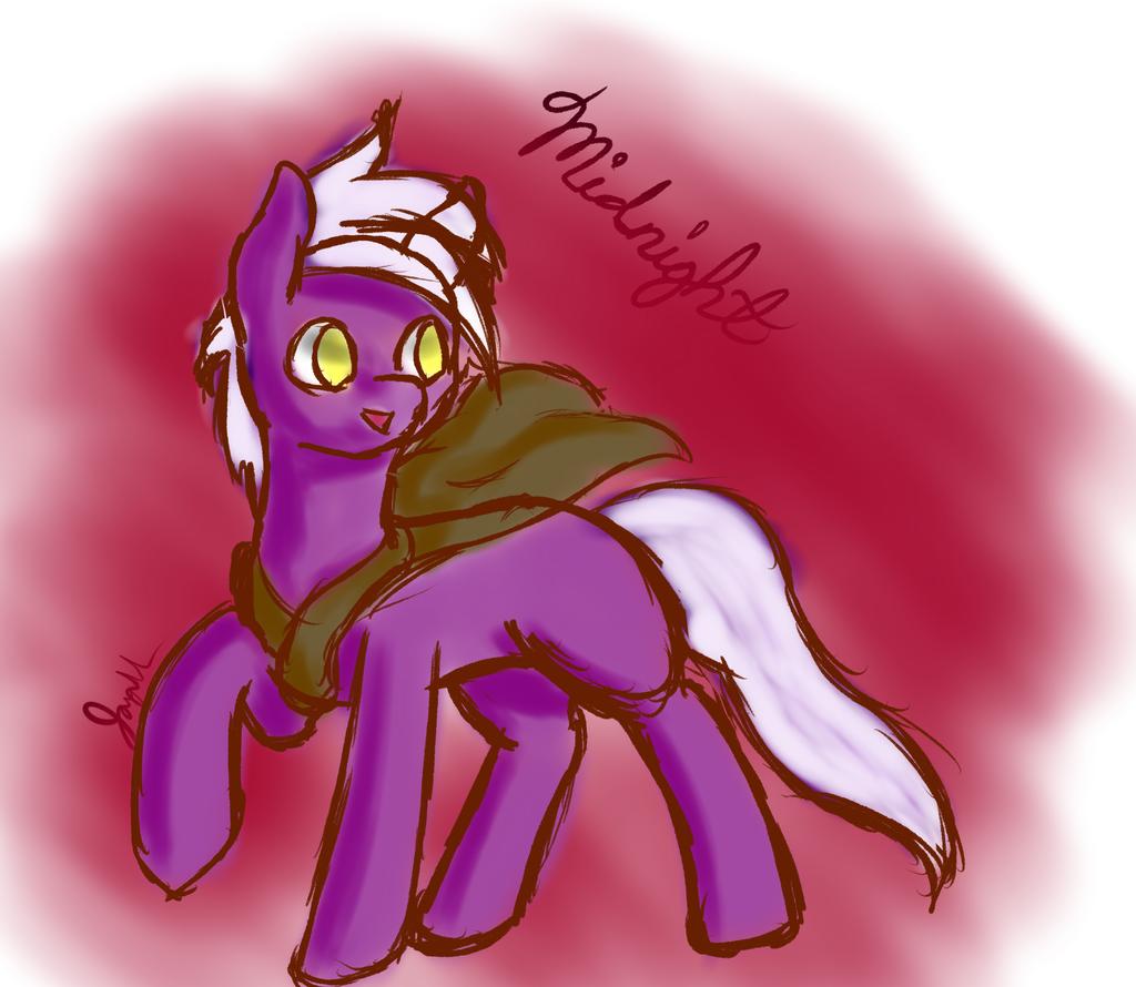 Midnight the pony by Jaywalk5