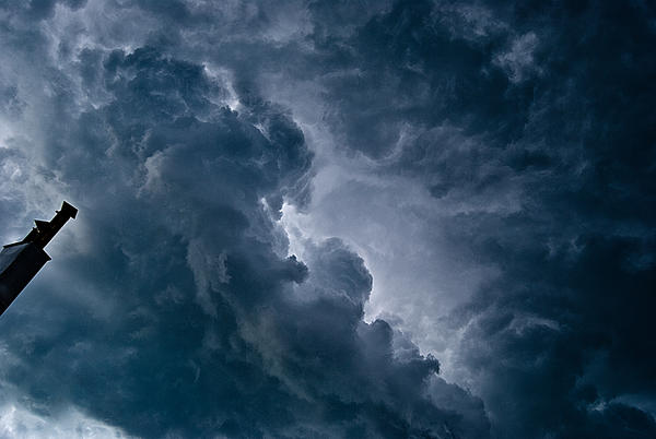 cloud stormy stock