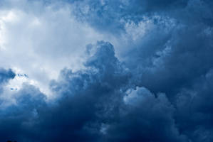 blue cloud stock background by amka-stock