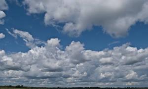light summer clouds