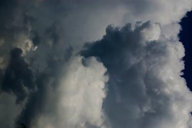 big grey stormy cloud sky stock background