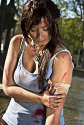 Tomb Raider | Wounded (Lara Croft) by Tifa-Lock