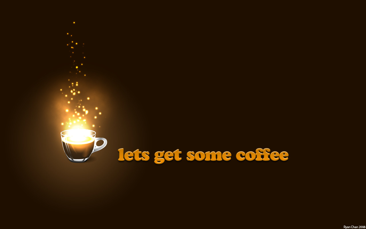2356483l original wallpaper Coffee Wallpaper by GearTech3 original wallpaper