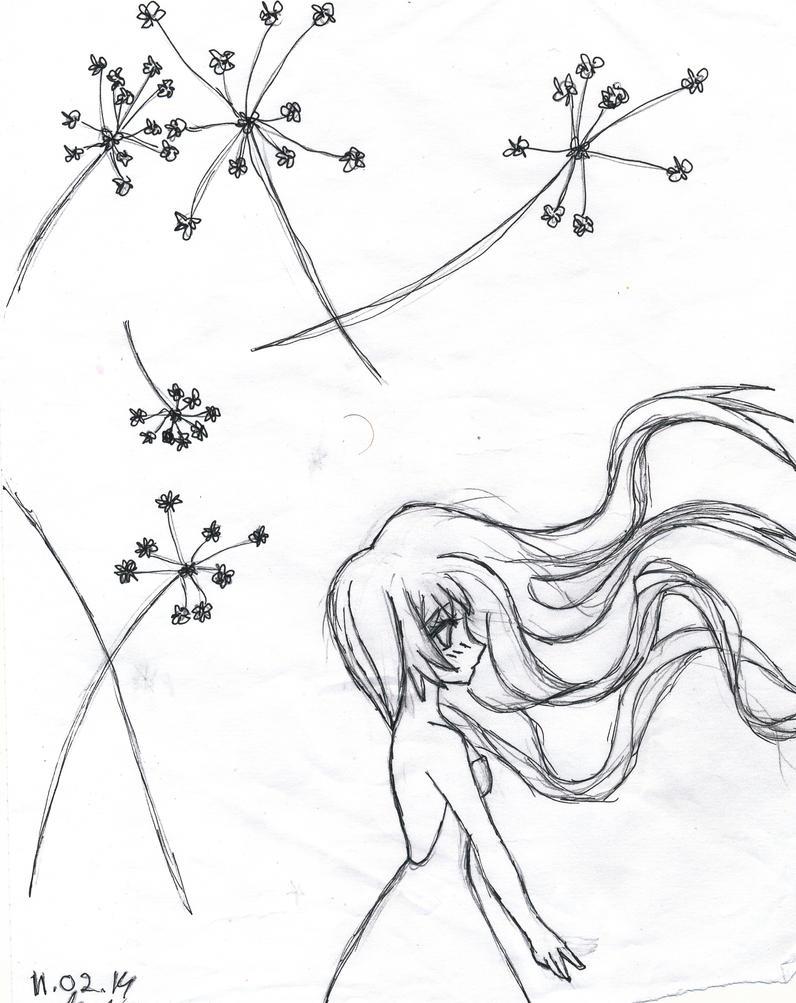 Dead flower in the wind by Katori-93