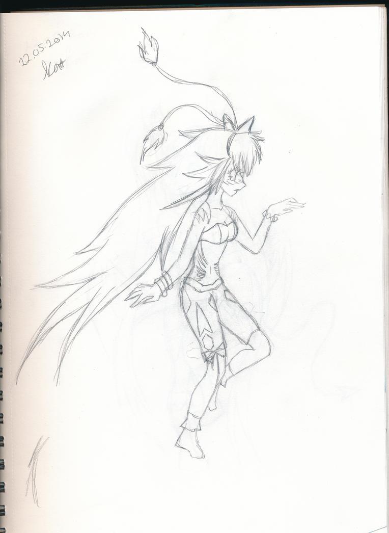 Ninja in the wind by Katori-93