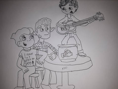 Pixar Boys
