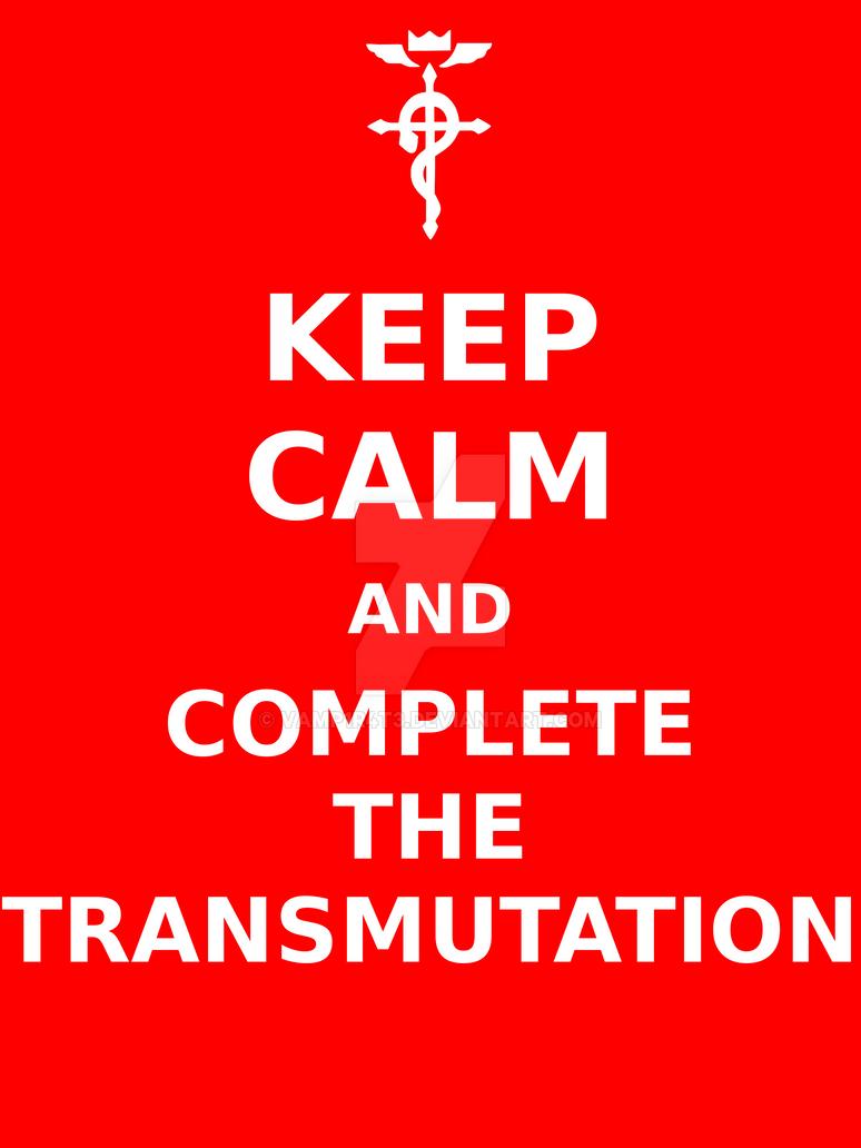 T shirt design keep calm - Tshirt Design Keep Calm Transmute By Vamp1r4t3