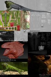 Making Iguana by bpatel