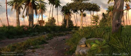 Vue maya Integration by bpatel