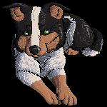Pixel Puppy by SanjanaStone