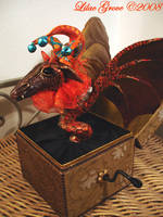 Jester Dragon, Drac-In-The-Box by LilacGrove