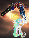 Celestia Heeds the Call of the Last Prime