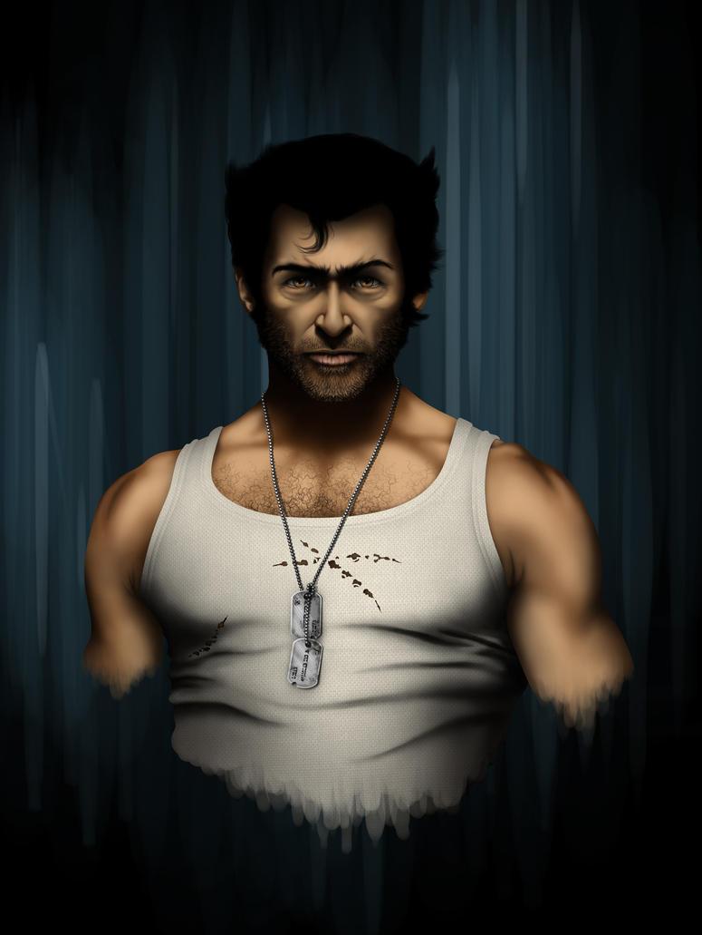 Wolverine Dijital Painting