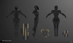 Female Body-Suit - Commission