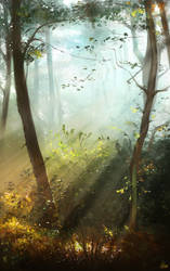 Dawn Speedpainting by AaronGriffinArt