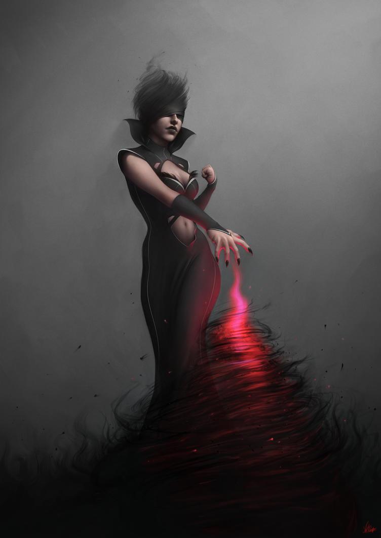 Sorceress by AaronGriffinArt