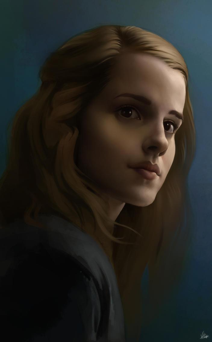 Hermione Sketch by AaronGriffinArt