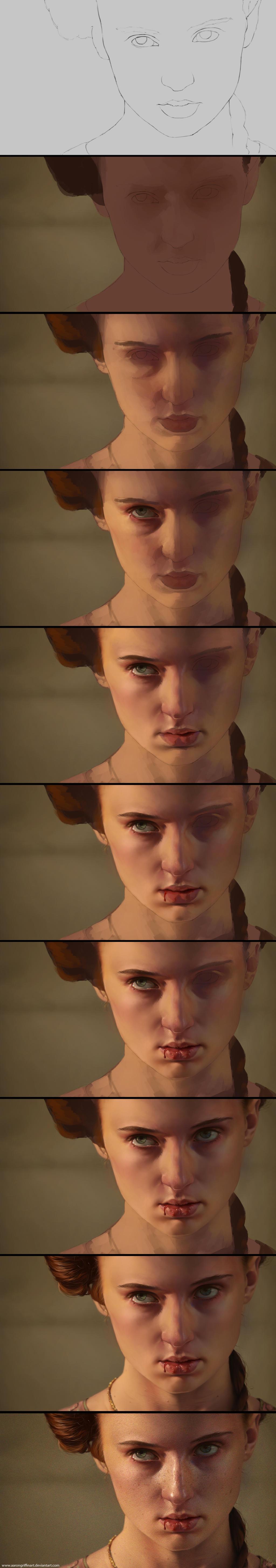 Sansa - Game of Thrones Process