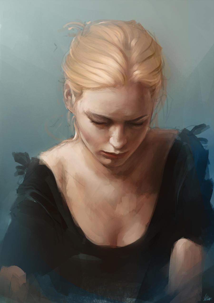Gentle - Sketch by AaronGriffinArt