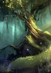 'Twisted Tree' Speedpaint