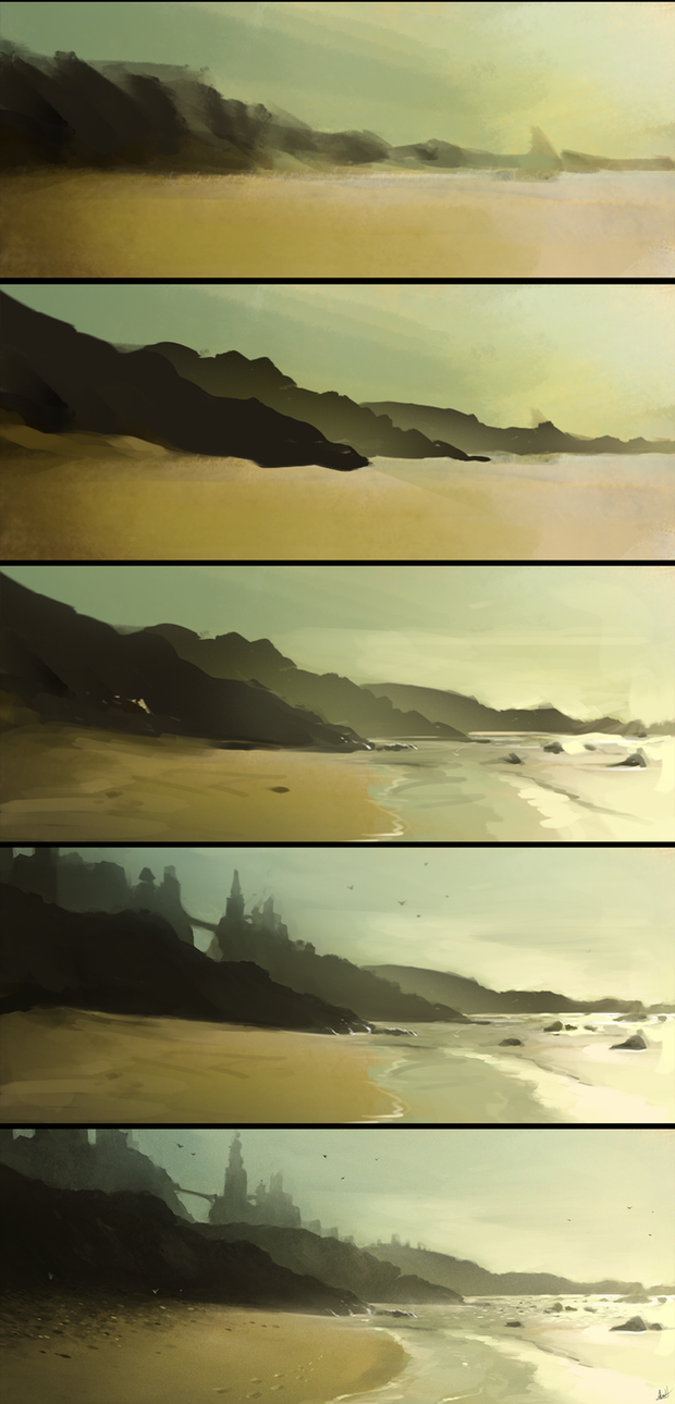 Ocean fort step by step by aarongriffinart on deviantart ocean fort step by step by aarongriffinart baditri Images