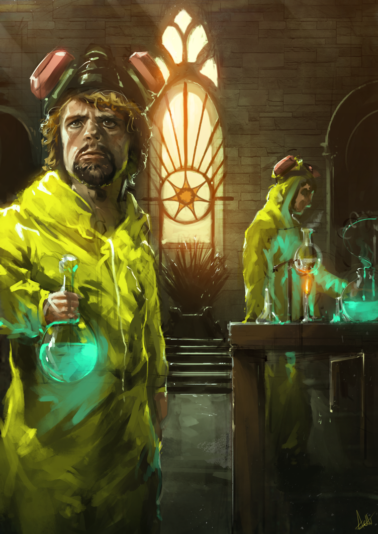 Tyrion Lannister - The One Who Knocks by AaronGriffinArt