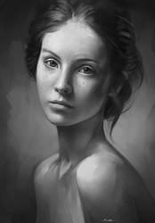 Portrait Practice by AaronGriffinArt